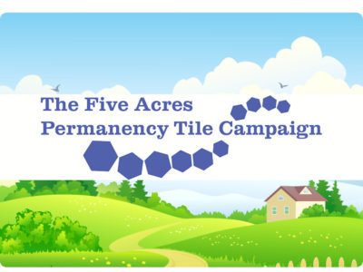 five acres permanent tile campaign