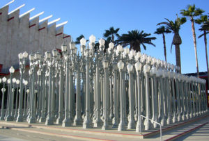 Los Angeles County Museum of Art Urban Light Installation