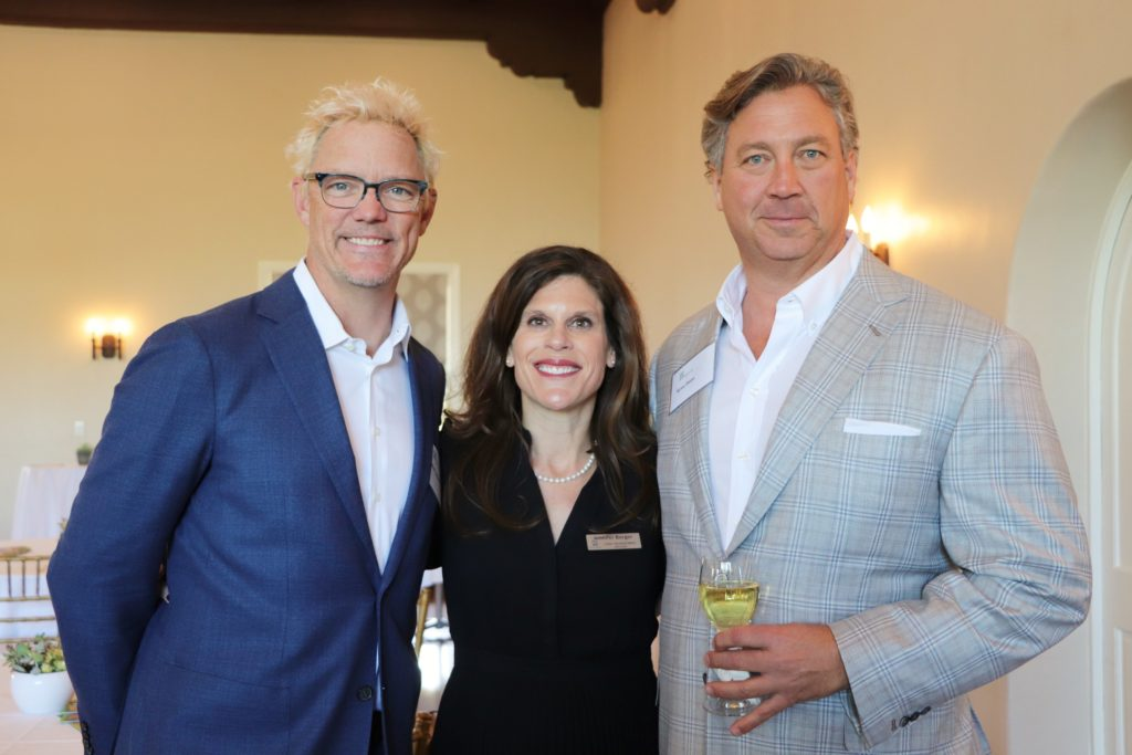 Ryan Dietz, Jennifer Berger and Matt Lillard at Five Acres' board member installation and celebration 2019
